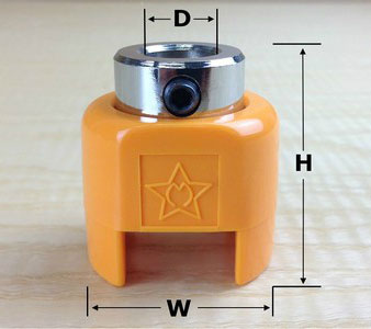 Star-M Depth stop dimensions