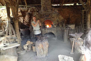 Guédelon Blacksmith