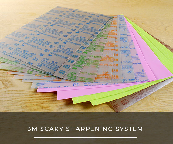 Scary Sharpening